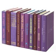 Collectors Library - Books By The Foot Purple