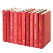 Collectors Library - Books By The Foot Red