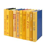Collectors Library - Books By The Foot Yellow