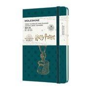 Moleskine - 21-22 L.E. Harry Potter Wkly Pocket Diary Green