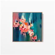 I Heart Wall Art - A Golden Day Natural Frame 75x75