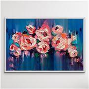I Heart Wall Art - A Golden Day White Frame 100x140