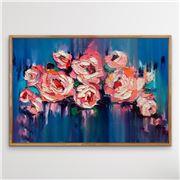 I Heart Wall Art - A Golden Day Natural Frame 120x160