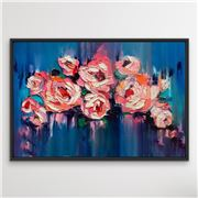 I Heart Wall Art - A Golden Day Black Frame 135x190