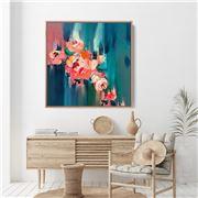 I Heart Wall Art - A Golden Day Floral 100x100