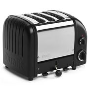 Dualit - Black 3 Slice Toaster