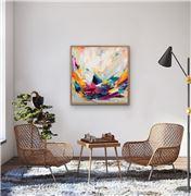 I Heart Wall Art - Amira Rahim New Beginnings 100x100