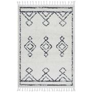 Tapete Rug - Natural & Charcoal Berber Shag Rug 380x280cm