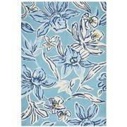 Tapete Rug - Blue Upcycled Floral Rug 280x190cm