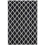 Tapete Rug - Black & White Hand Loomed Scandi Rug 400x300CM