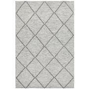 Tapete Rug - Black & White Textured Scandi Rug 225x155CM