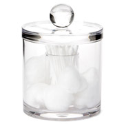 Glam - Cotton Bud & Cotton Ball Canister