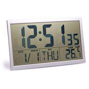 Peter's - Jumbo LCD Wall Clock