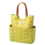 Petunia Pickle Bottom - Tailored Electric Citrus Tote