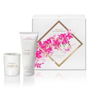 Ecoya - Lily & Patchouli Soy Candle & Hand Cream Gift Set