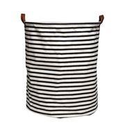 Executive Concepts - Canvas Storage Basket Black Str