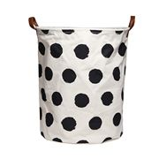 Executive Concepts - Canvas Storage Basket Black Spot