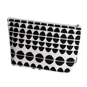 Executive Concepts - Canvas Cosmetic Bag Half Circle
