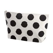 Executive Concepts - Canvas Cosmetic Bag Black Spot