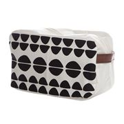 Executive Concepts - Canvas Wetpack Cosmetic Bag Half Circle