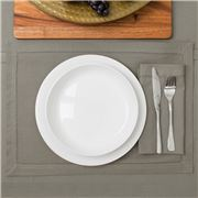Rans - Hemstitch Grey Placemat 33x48cm