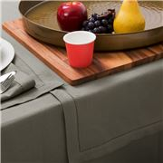 Rans - Hemstitch Grey Table Runner 33x135cm