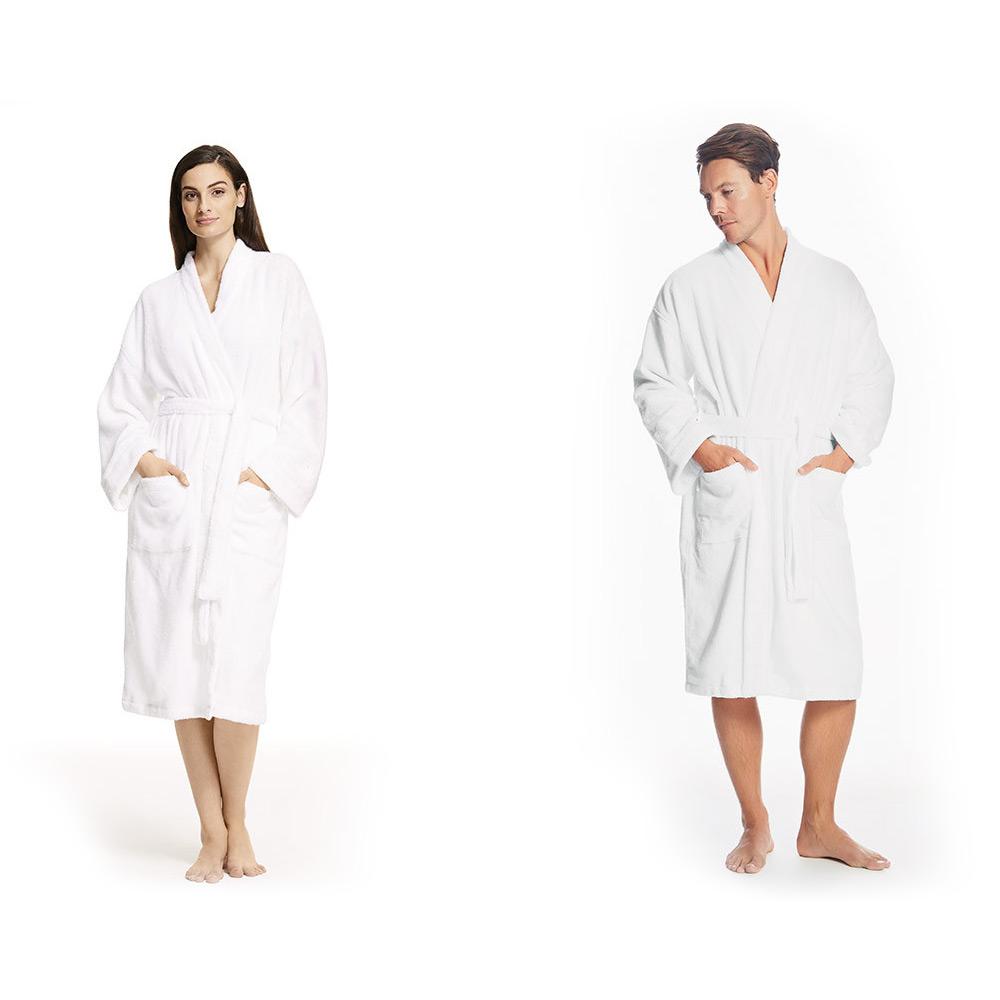 NEW Sheridan Quick Dry Luxury White Small-Medium Bathrobe ... 3a25ebdd0