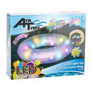 Airtime - Flashing LED Light Up swim ring