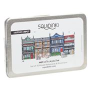 Squidinki - Inner City Collection Notecard & Envelope Set