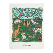 Squidinki - Australian Wildlife Blue Mountains Tea Towel