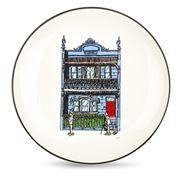 Squidinki - Blue Terrace Canape Plate