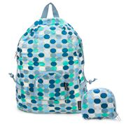 Envirotrend - PAKittome Compact Backpack Blue Spots