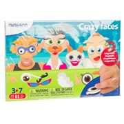 Miniland - Crazy Face Magnets