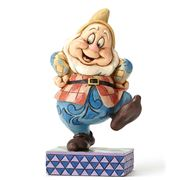 Disney - Happy Hop Dwarf Figurine