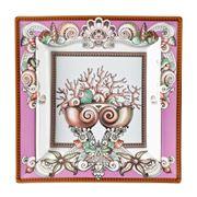 Rosenthal - Versace Les Etoiles De La Mer Pink Dish 22cm