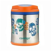 Contigo - Kids' Stainless Steel Food Jar Skeletons 295ml