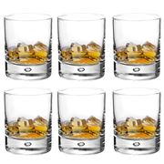 Durobor - Disco Tumbler Set 6pce 260ml
