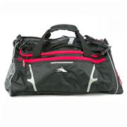High Sierra - 2 in 1 Black Duffle Bag