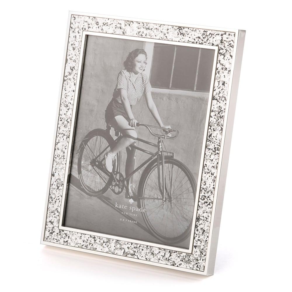 Kate Spade Simply Sparkling Silver Photo Frame 13x18cm Peters
