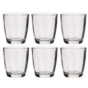 Bormioli Rocco - Pulsar Double Old Fashioned Tumbler Set 6pc