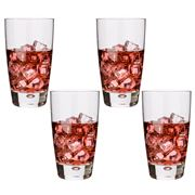 Bormioli Rocco - Luna Highball Tumbler Glass Set 4pce