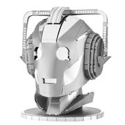 Metal Works - Doctor Who Cyberman Head Model