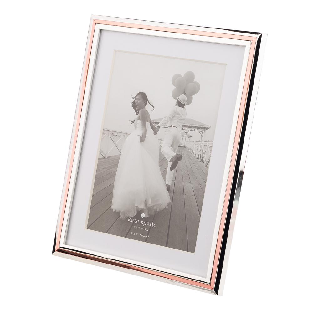 Kate Spade - Rosy Glow Frame 13cm x 18cm | Peter\'s of Kensington