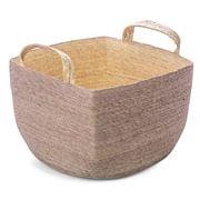 Linen & Moore - Cruz Mink Square Basket