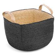 Linen & Moore - Cruz Noir Square Basket