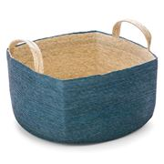 Linen & Moore - Cruz Storm Square Floor Basket