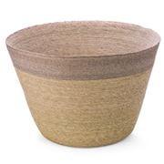Linen & Moore - Mink Stripe Maxi Basket