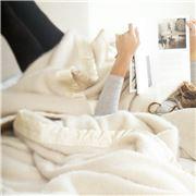 St Albans - Mohair White King Size Blanket