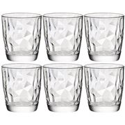 Bormioli Rocco - Diamond Water Tumbler Set 6pce 300ml