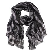 D Lux - Glimmer Lurex Check Wrap Black